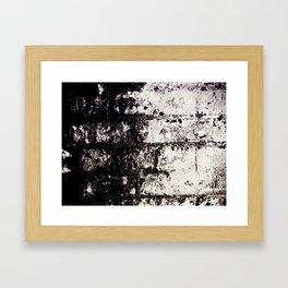 Wall of Darkness Framed Art Print