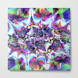 Seeing Soudwaves Metal Print