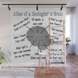 Geologist's Brain Humor Wall Mural