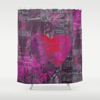 passion Shower Curtains featuring Passion    by LebensART