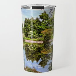 Lakeside reflections. Travel Mug