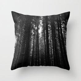 Norwegian woods - Bergen, Hordaland Throw Pillow