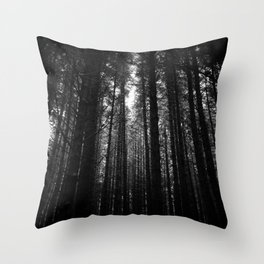 Norwegian woods - Bergen, Hordaland Throw Pillow