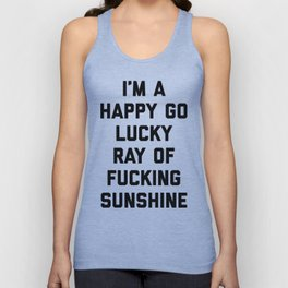 Ray Of Fucking Sunshine Funny Quote Unisex Tanktop
