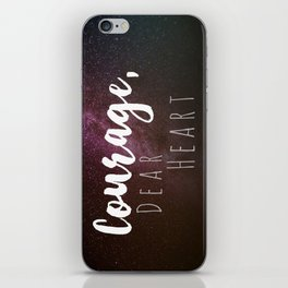 Courage, Dear Heart iPhone Skin