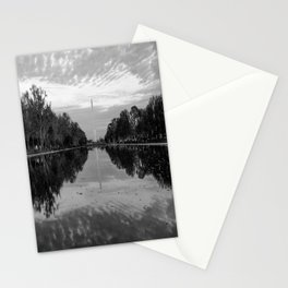 Reflecting Pool- Washington DC Stationery Cards