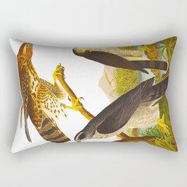 Goshawk Bird Rectangular Pillow