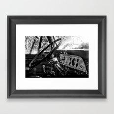 Dashboard Story 01 Framed Art Print