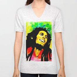 Bob / Marley - Sun is Shining Unisex V-Neck