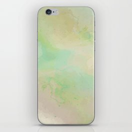 Speckled Grassy Meadow iPhone Skin