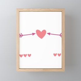 Together is Favorite Place Valentine Couple Gift Framed Mini Art Print