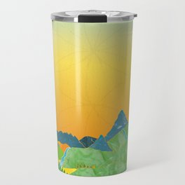 "The Journey Begins (from the book, ""You, the Magician"") Travel Mug"