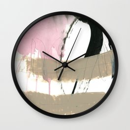 abstract painting XII Wall Clock