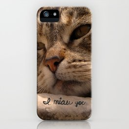 I miau you iPhone Case