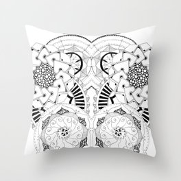 Mandala Series 04 Throw Pillow