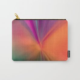 Electric Color Explosion Abstract Art Carry-All Pouch