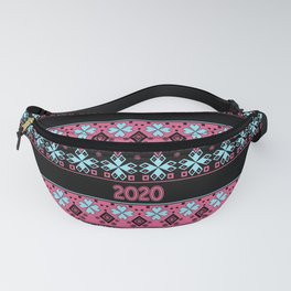 New year , 2020 , Christmas , Christmas ornament 2 Fanny Pack