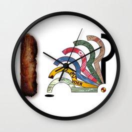 SAUSAGES 01 Wall Clock