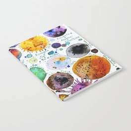 Mini Planets Notebook