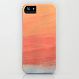 High above the sky and the sunrise iPhone Case