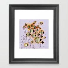 Swarm Framed Art Print