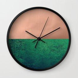 NEW EMOTIONS - LUSH MEADOW Wall Clock