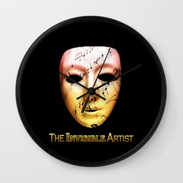 The Invisible Artist Wall Clock
