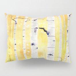 Autumn Birch Pillow Sham