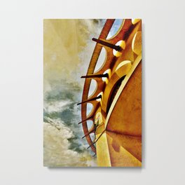 Greek To Me Metal Print