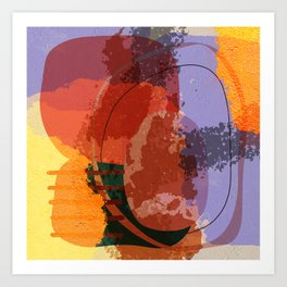 The new abstract Art Print