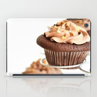 nutella iPad Cases featuring nutella cup cake by anna ramon photography