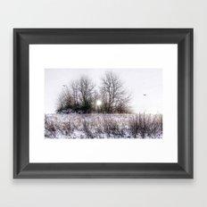 Winteridylle Framed Art Print