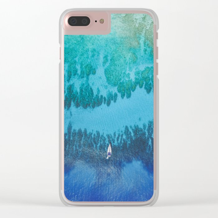 Roatan Island, Honduras Clear iPhone Case