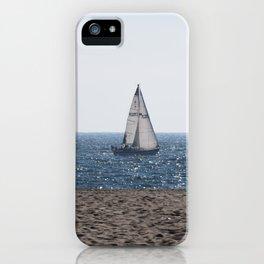 Sailing the LA Coast iPhone Case