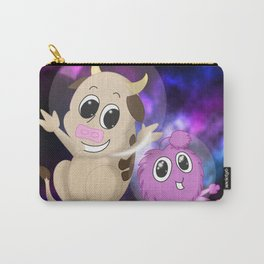 Cow and Alien Carry-All Pouch