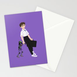 01 Shinji Ikari Stationery Cards