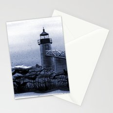 Lighthouse, Marshall Point, Maine Stationery Cards