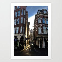 Morning Light in Amsterdam Art Print