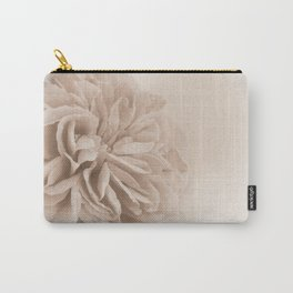 Light Sepia Rose #1 #floral #art #society6 Carry-All Pouch