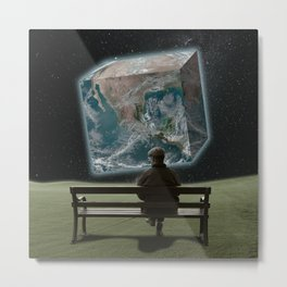 Unearthly Mind Metal Print