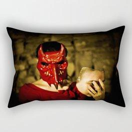 the devil inside Rectangular Pillow