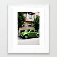 volkswagon Framed Art Prints featuring Volkswagon.  by EmilyEtterPhotography