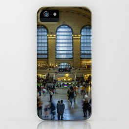 The Grand Central Terminal in NYC iPhone Case