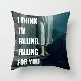 Sleepwalking for You Throw Pillow