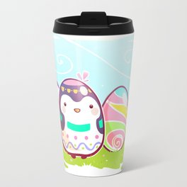 Easter Penguin Travel Mug