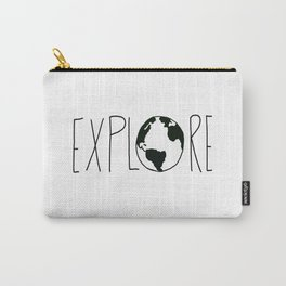 Explore the Globe x BW Carry-All Pouch