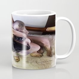 You can always find hope in a dogs eyes. Coffee Mug