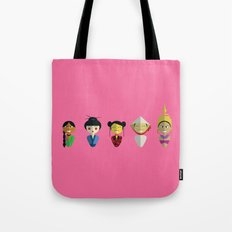 Asian Dolls Tote Bag