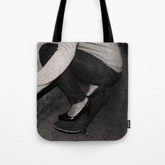 skateboarding girl Tote Bag