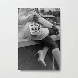 Fashionista  Metal Print